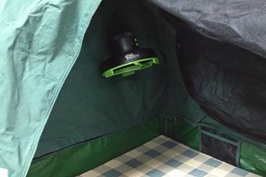 Tent or Swag Fan Ironman 4x4